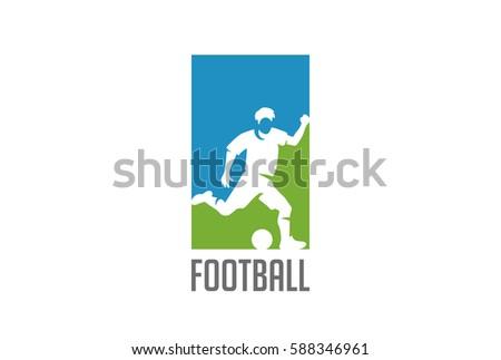 football player hit ball