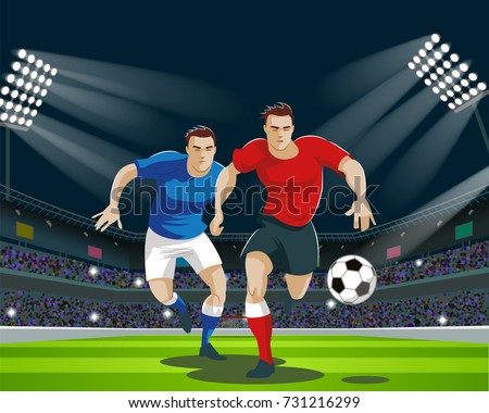 Football Player Silhouette Standing Stock Illustrations – 163 Football Player  Silhouette Standing Stock Illustrations, Vectors & Clipart - Dreamstime