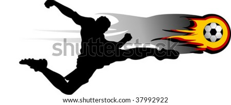 Football Player Logo Football Players Attack Gate