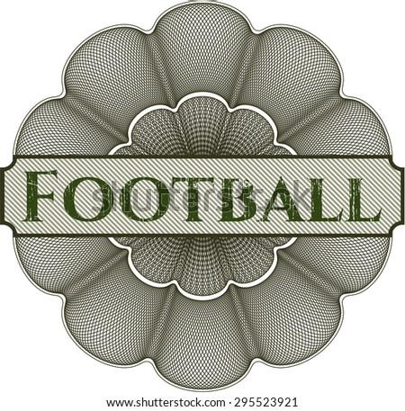 Football rosette