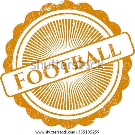 Football rubber seal