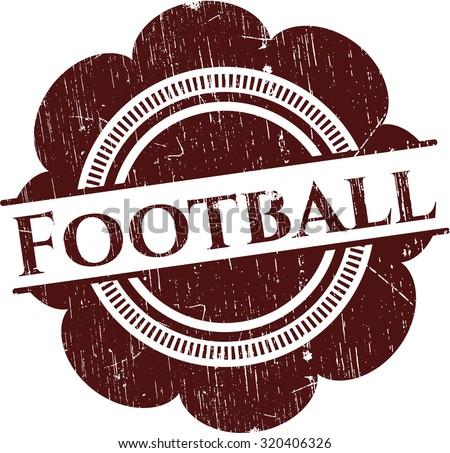 Football rubber texture