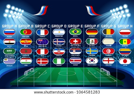 football set of world