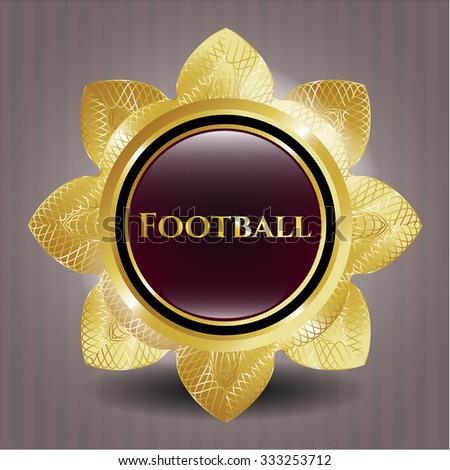 Football shiny badge