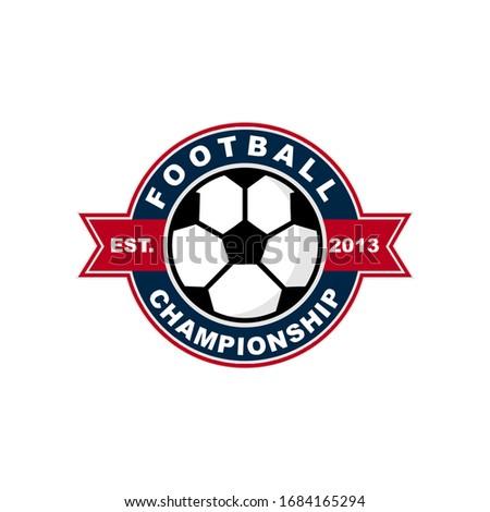 football soccer logo design