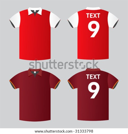 Football Shirt Clipart Football/soccer Shirt