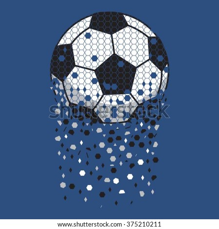 football sport typography  t