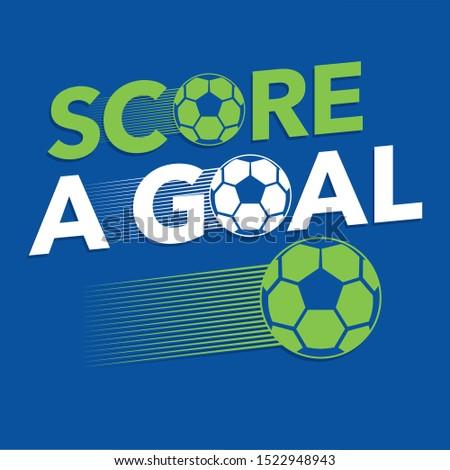 Football sport typography, tee shirt graphics, vectors