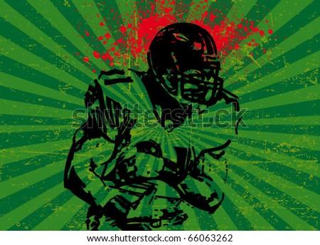football vector poster
