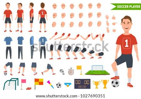 footballer character