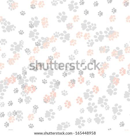 footprints pattern