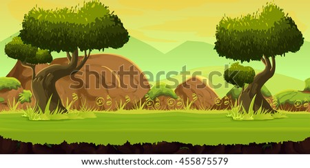 forest and stones game