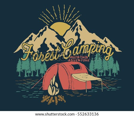 forest camping.adventure ...