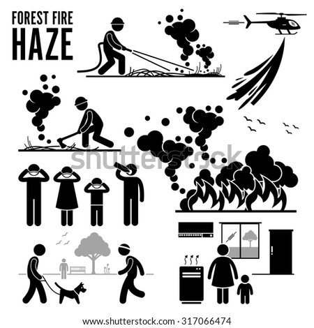 forest fire and haze problems