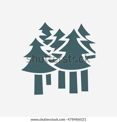 forest icon  forest icon flat