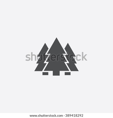 forest icon  forest icon vector