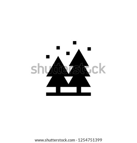 forest icon vector forest