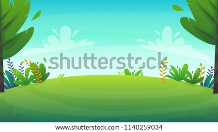 forest nature background  park