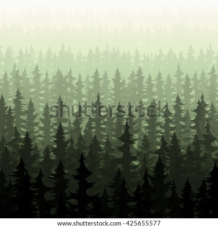 forest trees nature green