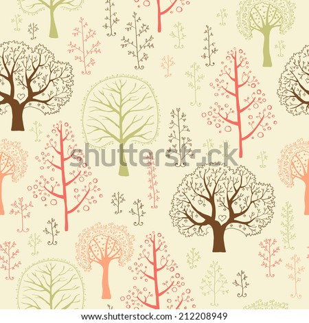 forest wallpaper with seamless
