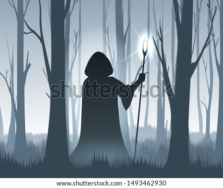 forest wizard dark magician