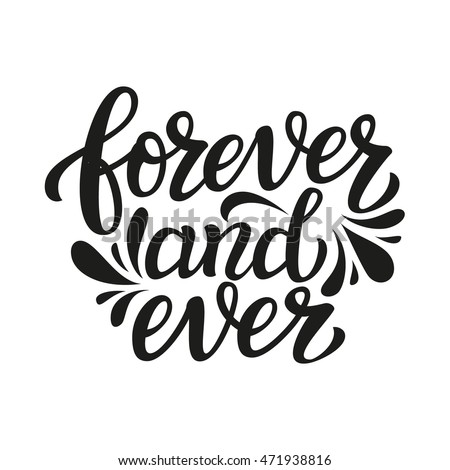 forever and ever hand