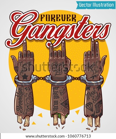 forever gangsters print for t