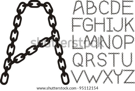 forged chain alphabet