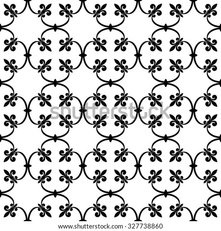 forged seamless pattern of