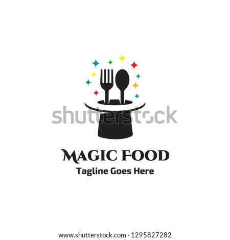 fork and spoon food in magic