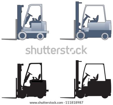 Forklift truck elevations