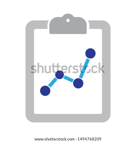 form icon. flat illustration of form - vector icon. form sign symbol