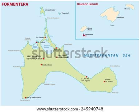 formentera map