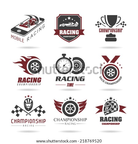 formula 1 icon set  sport icons