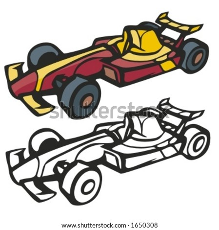 Formula  Auto Racing Tickets on 3d Rendering Of A Racing Emblem 10eps Find Similar Images