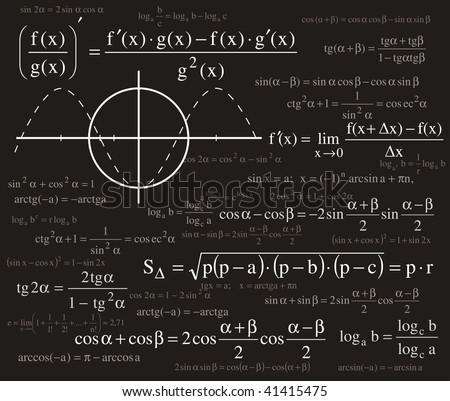 Formulas background