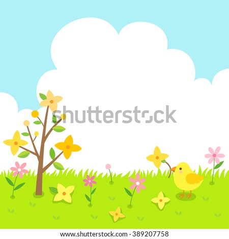 forsythia flowers and cute