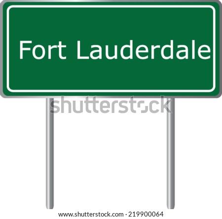 fort lauderdale  florida  road