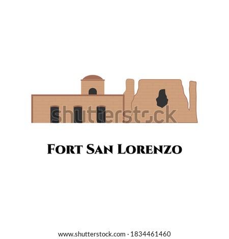 fort san lorenzo in panama flat