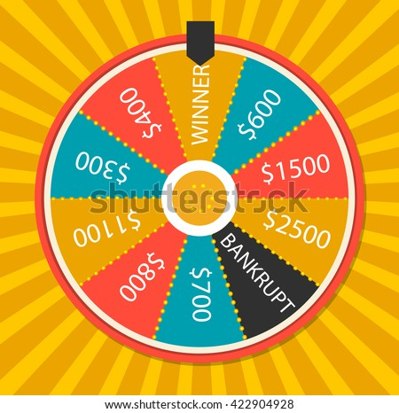 spinning wheel template vector - download free vector art, stock, Powerpoint templates