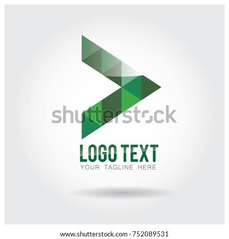 Forward Moving Logo Icon Vector template