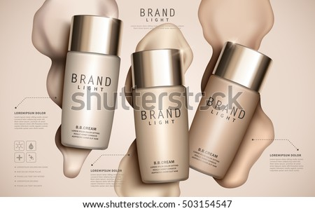 foundation ads template  makeup
