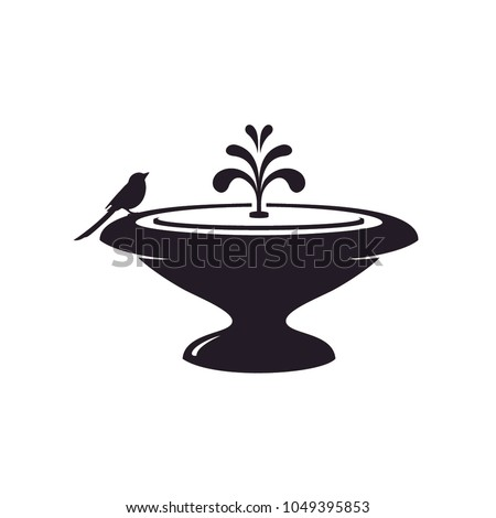 fountain design illustration