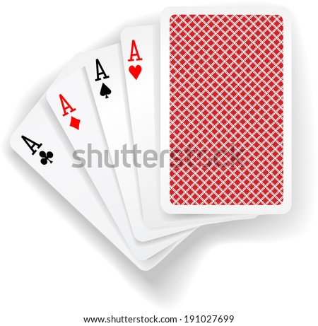 four aces in five card poker