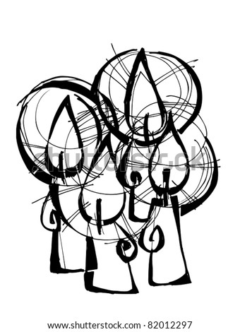 cityscape vector art A7VEkWSh