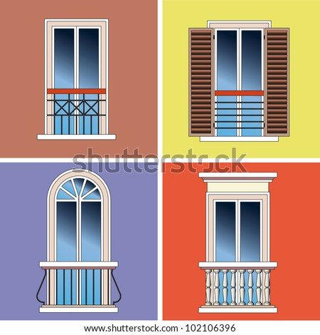 four classical types of arched