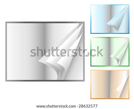 Printable flip book template success