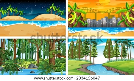 four different nature