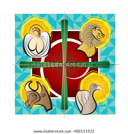 four evangelists   symbols