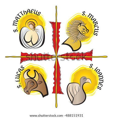 four evangelists   symbols